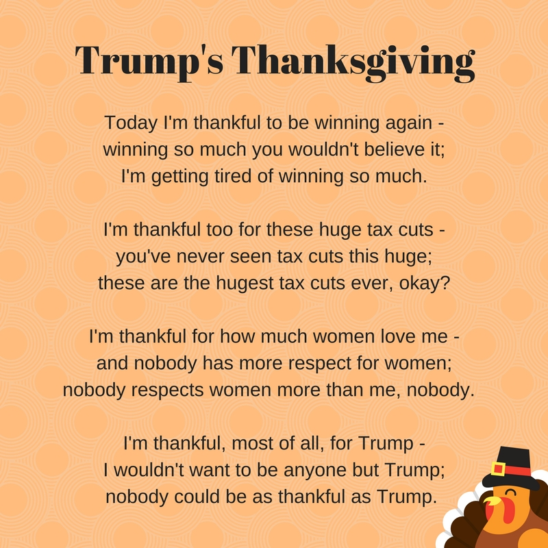 Trump's Thanksgiving
